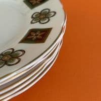 Hudson and Middleton | Royal Sutherland | Side Plate x 5 | 60s